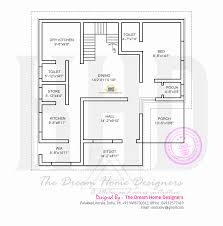 2000 Sq Ft House Floor Plans by Contemporary House Plans In Kerala With 2000 Sqft Arts