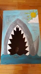 Shark Bean Bag Wading Through Soup Bird Bean Bag Toss And Shark Bean Bag Toss