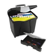 Desk Organizer With Drawer by Amazon Com Storex Portable File Storage Box With Drawer Latch