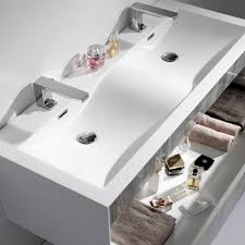 Double Vanity Units For Bathroom by Wall Mounted Bathroom Vanity Units Bathroom Decoration
