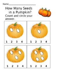 how many seeds in a pumpkin pre k kindergarten counting math