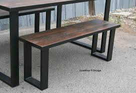 bench order buy a custom reclaimed wood bench made of steel and vintage