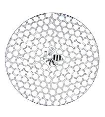 free mandala to color bee in hive mandalas coloring pages for