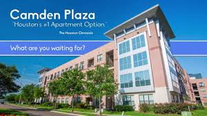 Camden Heights Apartments Houston Tx by Camden Plaza Youtube