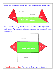 triangular prism lessons how to find the surface area of a