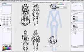 clip studio paint webinar character design for comics and