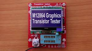 m12864 graphics transistor tester from banggood part 1 soldering