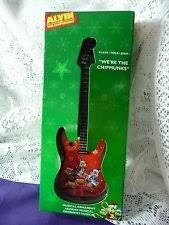 alvin and the chipmunks musical guitar ornament plays