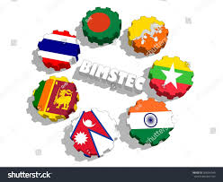 Flag Of Bengal Bimstec Bay Bengal Initiative Multisectoral Technical Stock