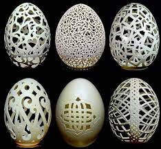 decorated egg shells eggshell sculptures just amazing all things unique