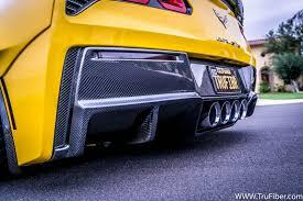 carbon fiber corvette corvette c7 carbon fiber rear diffuser
