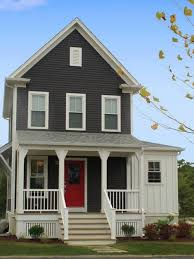 Beautiful Brown Color Nuance Impressive Inexpensive External House Paint Idea Exterior Design