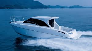 lexus v8 in boat toyota u0027s latest ponam boat has a 260 hp land cruiser engine