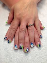 191 best seahawks nails images on pinterest seahawks nails