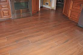 Laminate Floor Tiles That Look Like Ceramic Wood Tile Floor Kitchen New Jersey Custom Tile