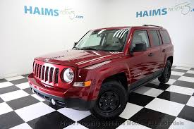 jeep patriot passenger capacity 2016 used jeep patriot fwd 4dr sport at haims motors serving fort