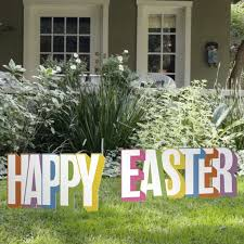 Easter Decorations For The Yard by The 25 Best Outdoor Easter Decorations Ideas On Pinterest Happy
