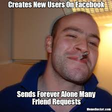 Create Facebook Meme - creates new users on facebook create your own meme