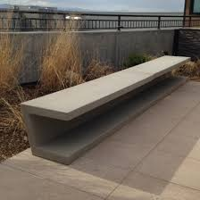composite benches streetscapes
