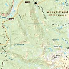 Continental Divide Map Steamboat Springs Colorado Adventure Maps