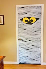 door decorations door decorations spooky diy mummy door decoration