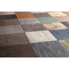 versatile assorted pattern commercial 24 in x 24 in carpet tile