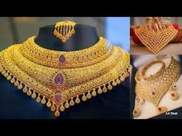 best necklace designs images Best choker necklace designs 2018 beautiful wedding necklace jpg