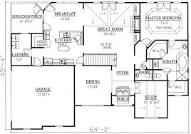 great house plans house plan with great flow 24327tw architectural designs