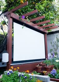 Backyard Theater Ideas How To Build An Outdoor Theater In Your Garden Outdoor Theater