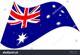 Aussie Flag Stylized Australian Flag Stock Vector 25110877 Shutterstock