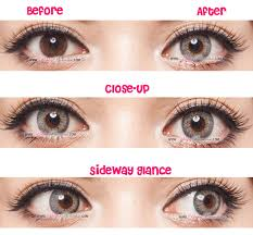 red eye contacts for halloween g u0026g shinny grey circle lenses colored contacts pinkyparadise
