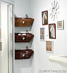 wall decor ideas for bathroom bathroom shelves diy basket shelves bathroom small for towels