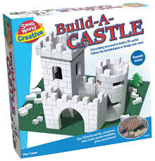 amazon com small world toys creative build a castle toys u0026 games