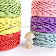 colored raffia colored twisted paper raffia rope buy paper