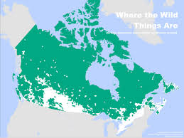 Map Of Canada And Alaska by This Is How Empty Canada Really Is Photos