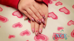 valentine u0027s day nail art youtube