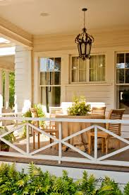 Front Porch Banisters Southern Living Eastover Cottage Exterior Paint Colors