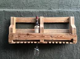 6 bottle wine rack u0026 glass holder u2022 1001 pallets
