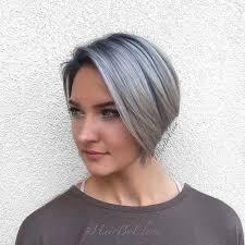 coupe pour cheveux gris coupe carré gris comme pour inspirer style de cheveux coupe de