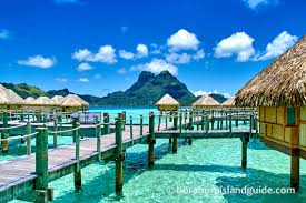 tropical island paradise bora bora hotels vacation resorts in tropical island paradise