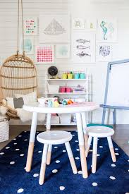 kids room inspiration image via ivory lane riley play table