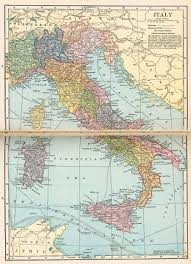 Political Map Of Italy by Nationmaster Maps Of Italy 60 In Total