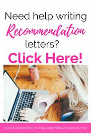 recommendation letter mom pinterest reference letter