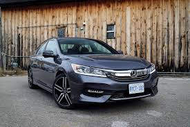 review 2016 honda accord sport canadian auto review
