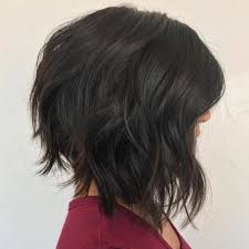 uneven bob for thick hair 60 most beneficial haircuts for thick hair of any length