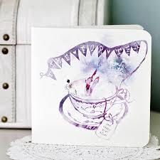 afternoon tea wedding invitation by eastwood