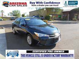 lexus certified pre owned phoenix certified pre owned 2015 toyota camry le 4dr car in mesa 17234