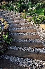 what u0027s inspiring me railroad ties pea gravel and landscaping ideas