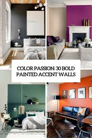 color passion 30 bold painted accent walls digsdigs color passion 30 bold painted accent walls cover