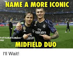 Football Meme - name a more iconic name a more iconic fly mirafes troll football